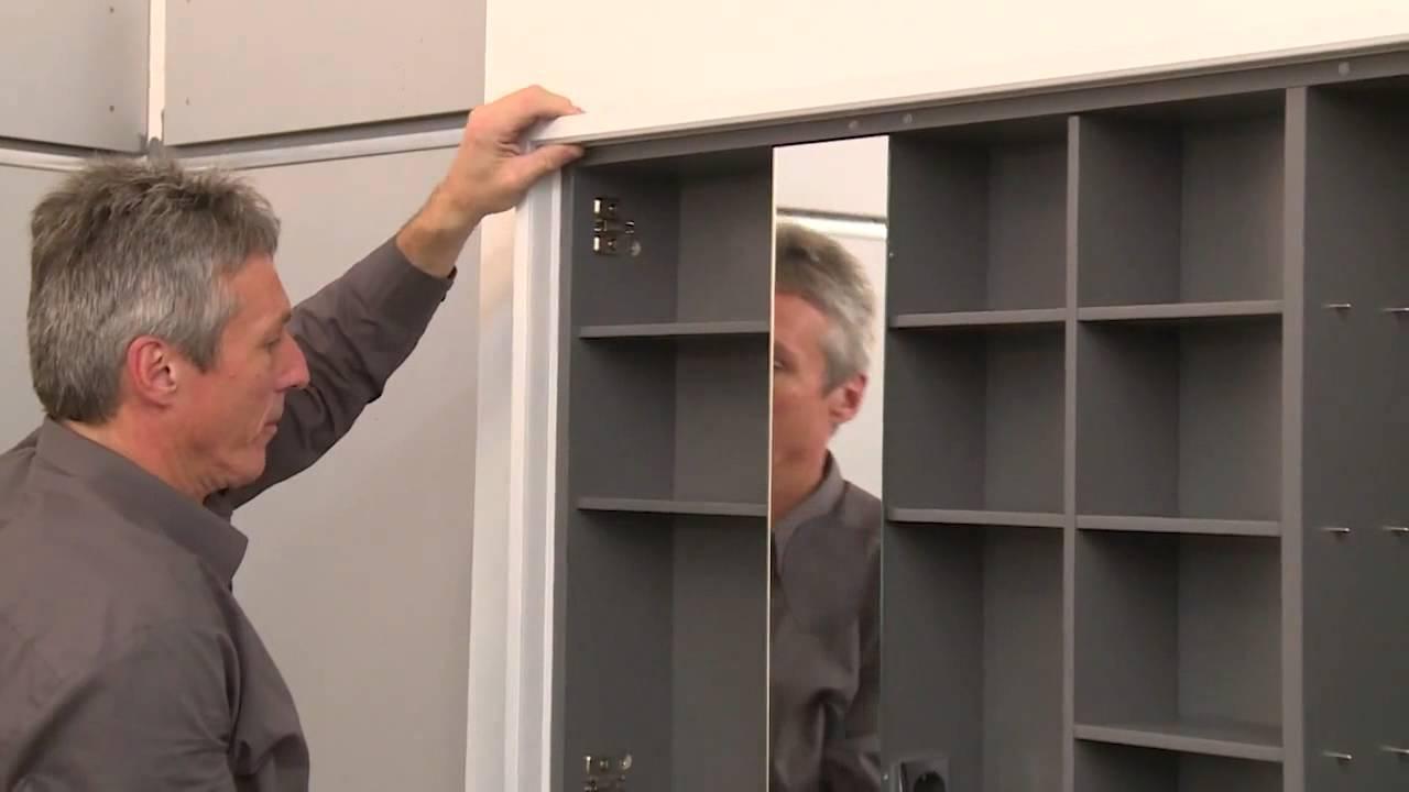 burgbad Montage Film Wandeinbau Spiegelschrank Crono