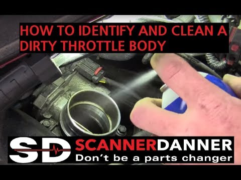 2014 Chevy Malibu 2.0L P1101 Caused by a Dirty Throttle Body