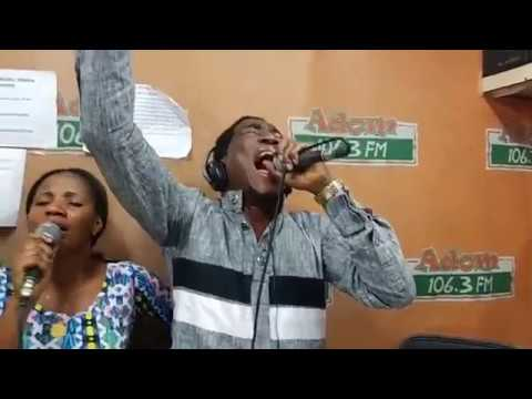 Apostle Oko Hackman Worship with Adom FM