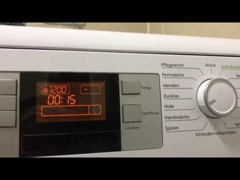 beko waschmaschine fehler youtube. Black Bedroom Furniture Sets. Home Design Ideas