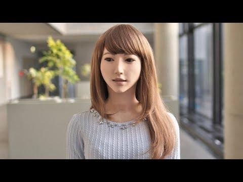 Erica, The Most Life Like Humanoid Robot Is Really Beautiful Female Robot    Japanese Robotics