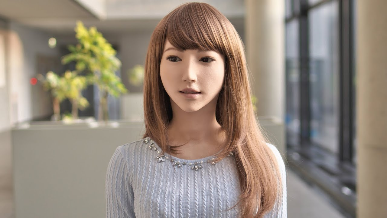 Erica The Most Life Like Humanoid Robot Is Really Beautiful Female