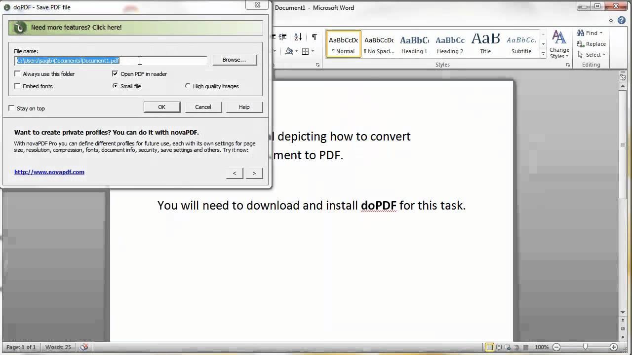 Convert Pdf To Pdf Dopdf