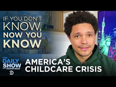 America's Childcare Crisis - If You Don't Know, Now You Know | The Daily Social Distancing Show