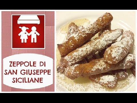 Zeppole di San Giuseppe Siciliane o Crispelle di riso al miele (Dolci) 2C+K