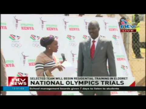 National athletics trials: 260 athletes take part in trials