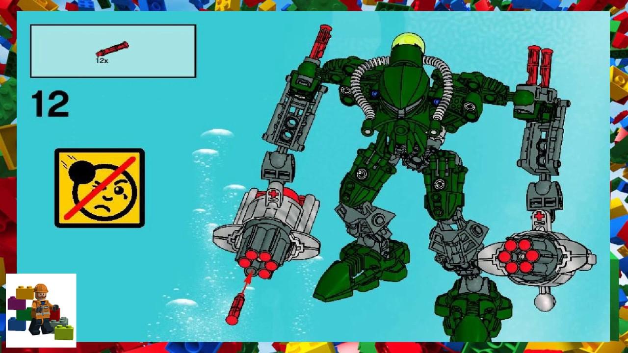 Lego tahu nuva instructions 8572, bionicle.