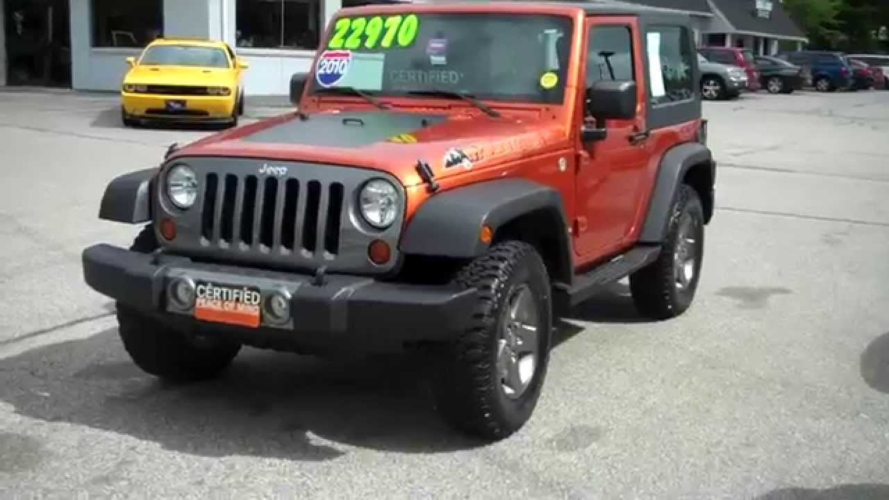Used Jeep Dealers Maine Jeep Wrangler Mountain Edition Mango Tango ...