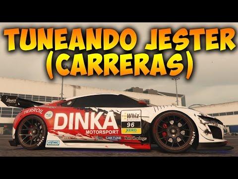 GTA V Online - TUNEANDO NUEVO COCHE DINKA JESTER (CARRERAS) - Vehículos ...