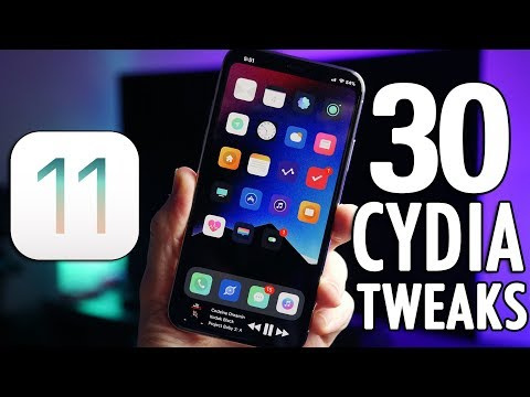 Top 30 BEST Cydia Tweaks for iOS 11 Electra Jailbreak!