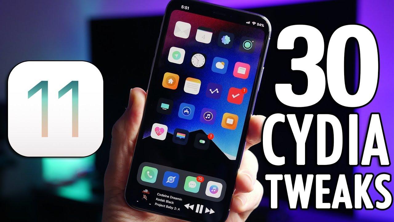 Top 30 BEST Cydia Tweaks for iOS 11 Electra Jailbreak! - YouTube