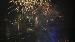 2018新年除夕曼谷河邊煙花匯演