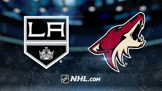 Hill earns first win as Coyotes edge Kings in SO