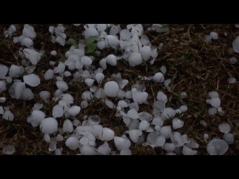 Severe Convection Weather Brings Hailstones, Heavy Rain to south, southwest China