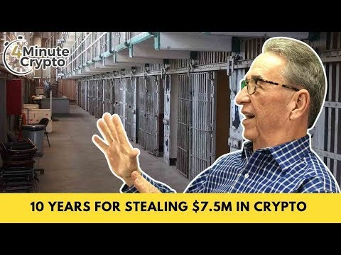 10 Years For Stealing $7.5M In Crypto Hacking Cell Phones
