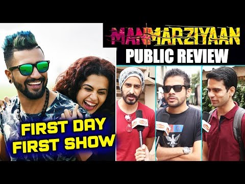 Manmarziyaan PUBLIC REVIEW | First Day First Show | Abhishek Bachchan, Taapsee, Vicky Kaushal