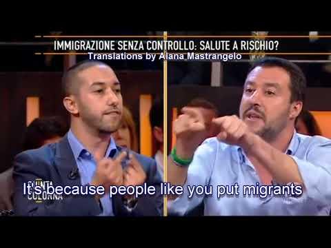 Matteo Salvini VS Khalid Chaouki