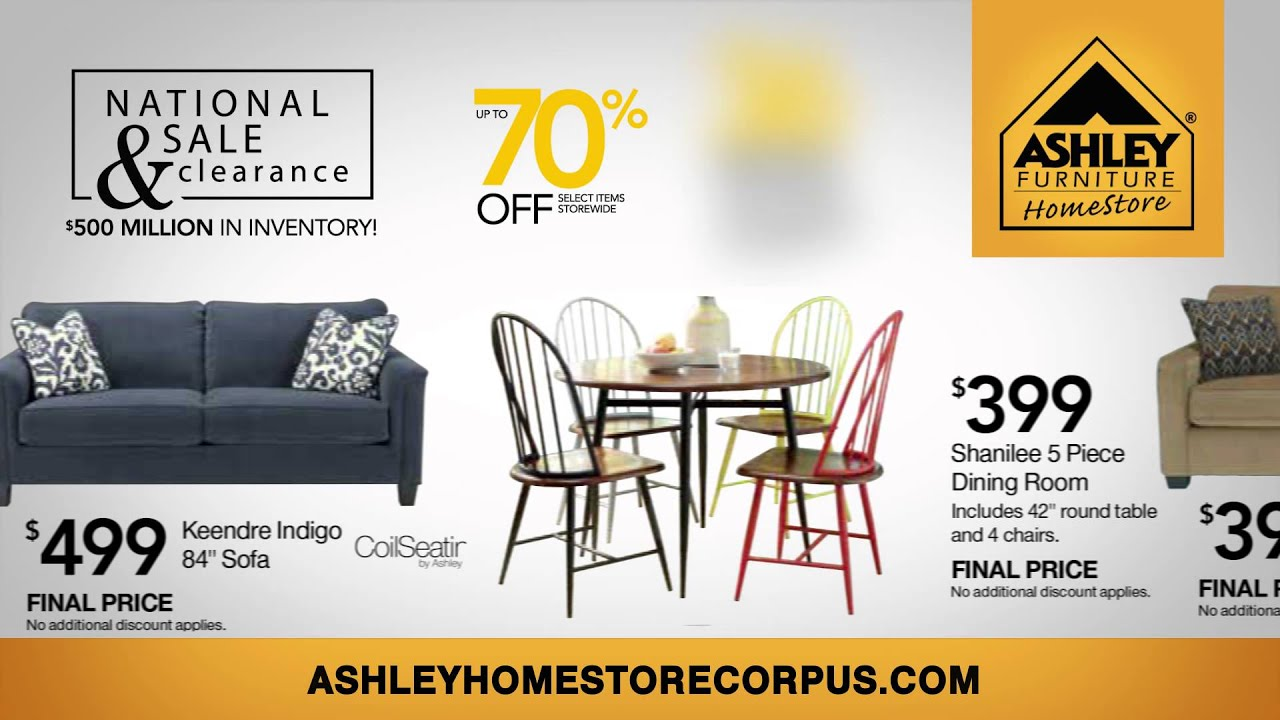 Ashley Furniture Corpus Christi Texas July Pre roll Ad