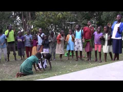 Uganda Ndorwa Kabale dancing children