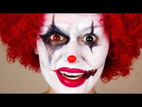 Scary Clown | Halloween Makeup