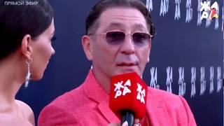 Григорий Лепс - красная дорожка фестиваля Жара 2017 в Баку. Азербайджан фестиваль жара Лепс лолита