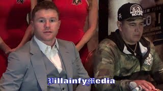 A CLASSY CANELO STOPS REPORTER WHEN PRESSED ABOUT OSCAR DE LA HOYA & CURRENT RELATIONSHIP