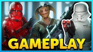 Star Wars Battlefront 2 Sith Trooper, Spy, Gunner, Jet Trooper Gameplay (Reinforcements)