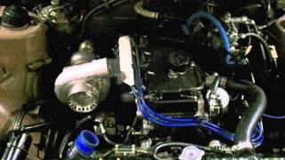 87 mitsubishi starion tmw custom turbo kit jr tuned