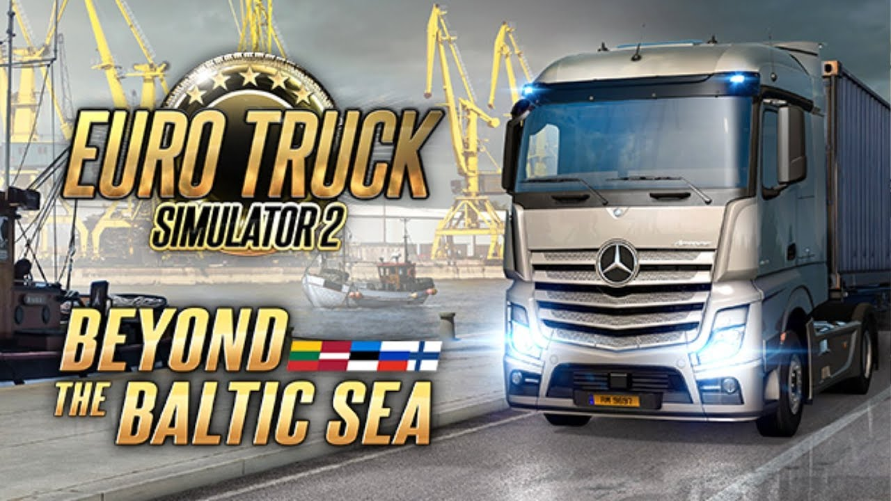 Euro Truck Simulator 2 Beyond the Baltic Sea-CODEX « Skidrow