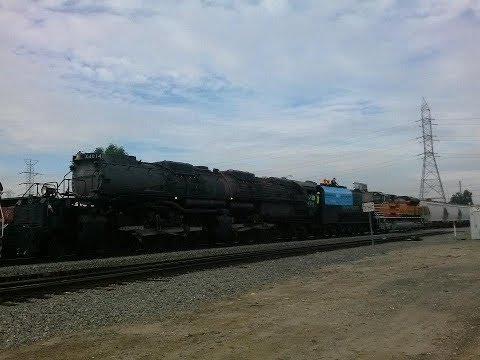 Union Pacific Big Boy 4-8-8-4 #4014 from CP Bassett to West Colton 1/26/14