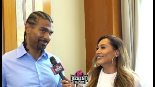 """[RIVAS] LOOKS LIKE A PRIME MIKE TYSON!"" DAVID HAYE WARNS/ TALKS FURY RUN IN/ NOT SURE ABOUT THE WBC"