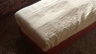 Make A Washable Footrest Slip Cover - Diy Home - Guidecentral