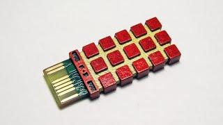 Процессор-выключатель подсветки глаз к статуе терминатора T-800