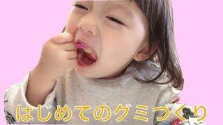 はじめてのグミづくり【知育菓子】【ゆうひなた】