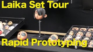 Kubo and The Two Strings, Laika Set Tour - Rapid Prototyping, #KuboMovie