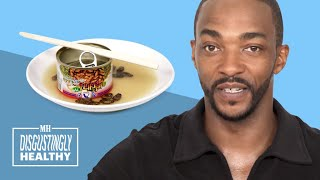 Anthony Mackie on Captain America Movie Rumors  | Disgustingly Healthy | Men's Health