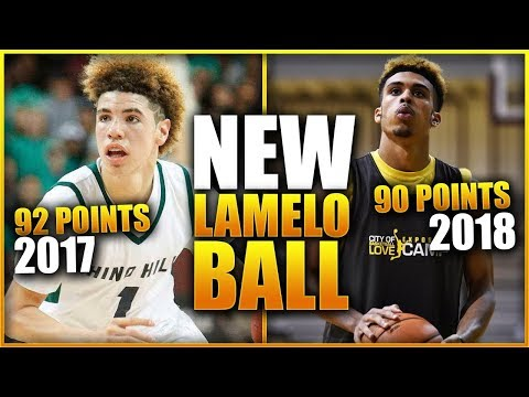 The New LAMELO BALL Almost Broke His High School Record!