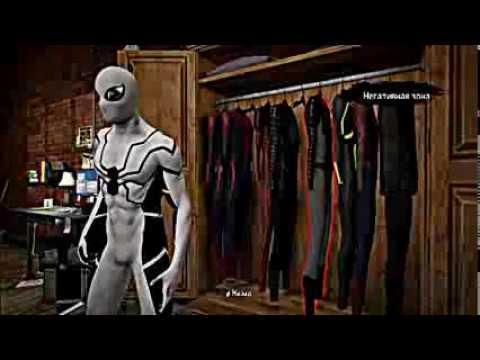 скачать игру The Amazing Spider Man со всеми костюмами - фото 9