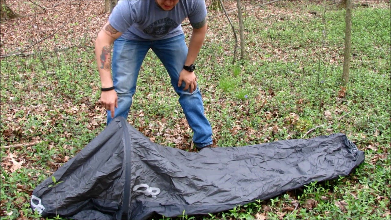 & Outdoor Research Helium Bivy Review - YouTube
