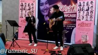 Fatin Shidqia Feat Rendy Pandugo - Closer (The Chainmokers) Live at Hermes Place Polonia Medan