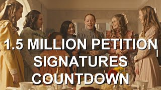 1.5 MILLION SIGNATURES ON ANNE WITH AN E SEASON 4 PETITION! (COUNTDOWN)