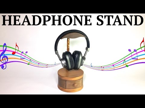 Headphone Stand with Storage