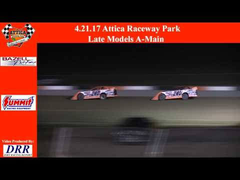 4.21.17 Attica Raceway Park Late Models A-Main
