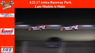 Attica Raceway Park | Late Model Feature 4/21/17