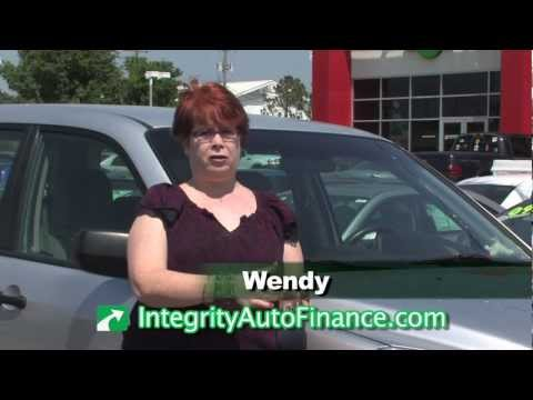 Buying Experience Testimonial from Wendy for Integrity Auto Finance