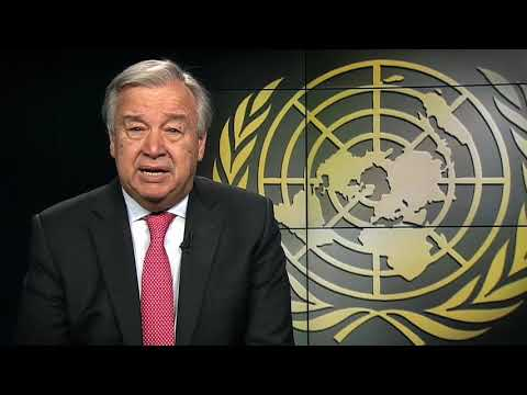 Secretary-General WHD message