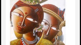 CONTEMPORARY TRIBAL ART OF INDIA by DHANANJAY