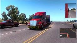 Cop Pulls over a truck!-Heavy Haul DLC -American Truck Simulator [Arizona,Phoenix DLC]