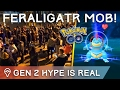 WILD FERALIGATR STAMPEDE ✦ RARE GEN 2 CATCHES IN POKÉMON GO