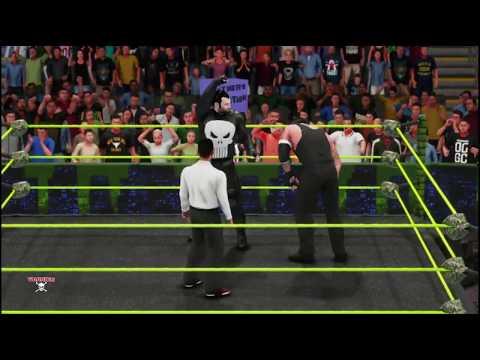WWE 2K19 undertaker v the punisher  